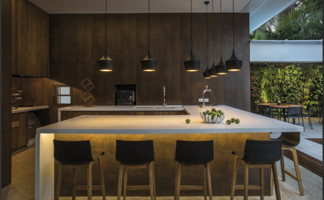 Want a Big Natural Stone Island in the Kitchen? Advanced Planning is ...